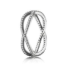 PANDORA | Crossing Paths, Clear CZ $80.00 at Hobbs Jewelers
