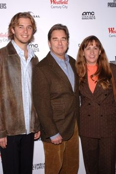 Actor BEAU BRIDGES & wife & son at the world premiere, in Los Angeles, of The Producers. December 12, 2005 Los Angeles, CA.