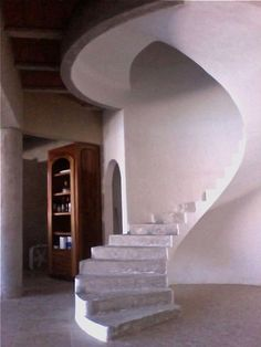 Picture of Floating circular concrete staircase