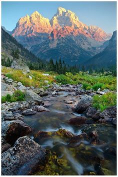 North Fork Cascade Canyon - Grand Teton National Park, Wyoming