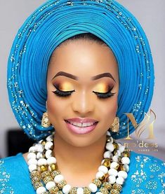 Flawless bridal makeover by Traditional Looks, Traditional Wedding, Tan Wedding, Bridal Makeover, Headdress, Head Wraps, Makeup Looks, Hair Beauty, Eyeshadow