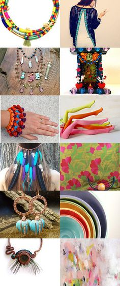Colors power by Valeria  Fittipaldi on Etsy--Pinned with TreasuryPin.com