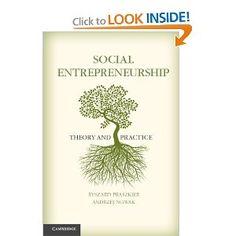 Social Entrepreneurship: Theory and Practice