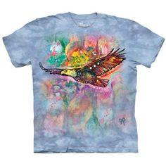 """The Mountain Erwachsenen Batik T-Shirt /""""Russo Giraffe/"""""""