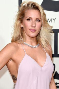 Ellie Goulding | Best #GRAMMYs Beauty Looks