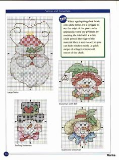 Cross stitch charts of drica