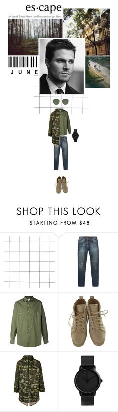"""""""Escape: to break loose from confinement or get free."""" by miky94 on Polyvore featuring Nudie Jeans Co., Aspesi, Christian Louboutin, LC23, Ray-Ban, men's fashion e menswear"""