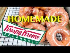 How to make Krispy Kreme Donuts - YouTube