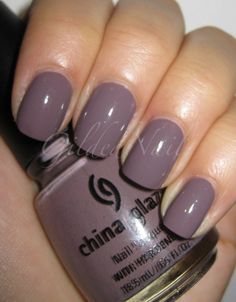 "China Glaze ""Channelesque""  (2 coats)"