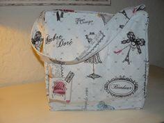 mon grand sac pour mes ballades Parisiennes : Sacs bandoulière par danetgeo