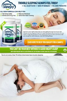 (USA Only) Best sleeping pill on the market! Over 70 million people in the US alone suffers from sleepless nights, finally there is something worth spending a dime on and getting results!