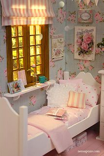 Sweet Roses Bedroom! | Flickr - Photo Sharing!