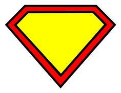superman logo blank by Pinafores & Pinwheels, via Flickr