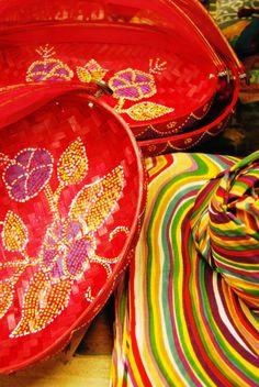 Centres de taula de Bali i pareos de la India