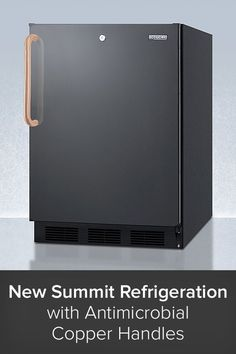 Drawing from their experience during the global pandemic, Summit Appliances together with its partner medical division, Accucold, are on the frontlines to provide you with cold storage units that minimize the spread of germs. That's why refrigerators and freezers with antimicrobial copper handles are now amongst their offerings. Copper is one of the most effective metals at destroying and neutralizing harmful disease-spreading microbes.