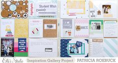 Project Life, Week 39 | Elle's Studio - Scrapbook.com - Add embellishments like cork to premade pocket cards for a dimensional and different look.