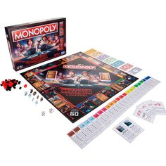The Stranger Things Monopoly Game is sure to be a hit with the whole family. This Monopoly game is inspired by the Netflix Original Series, Stranger Things and Stranger Things Netflix, Stranger Things Gifts, Stranger Things Steve, Stranger Things Aesthetic, Stranger Things Season 3, Ouija, 21 Things, Cool Things To Buy, Funny Things