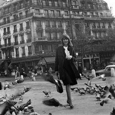 """""""Avec les artistes Français, comme Françoise Hardy, je les photographiais aussi bien à Paris, chez eux, qu'à Cannes et sur scène."""""""