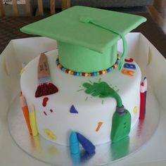 Last year's preschool Graduation Cake