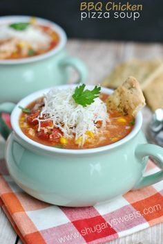BBQ Chicken Soup - Shugary Sweets