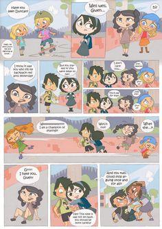 Total drama kids comic pag 2 by kikaigaku on deviantART Drama Total, Total Drama Island, Drama Funny, Drama Memes, Cartoon People, Cartoon Movies, O Drama, Kids Pages, Hipster Girls