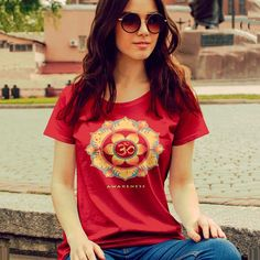 Women's short sleeve t-shirt - Awareness