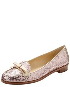 cora glitter flats / kate spade... head over heels in love with these by loraine