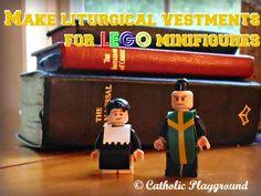 Make your own Lego minifigure vestments! – Catholic Playground