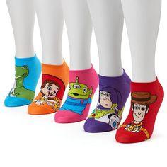 Disney 5-pk. Women's No-Show Socks