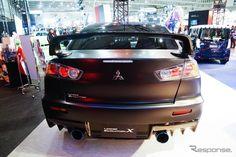 Mitsubishi Lancer Evolution X Final Concept -- 2015 Tokyo Auto Salon in Chiba, Japan.