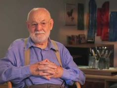 "Eric Carle talks about how he came to write ""The Very Hungry Caterpillar"". I treasure this video."