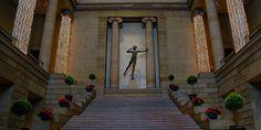 philadelphia museum of art inside | Paon The Fly
