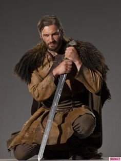 History Channel Vikings .....Rolo he is so pretty to bad he's a creep