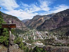 box canyon ouray overlook