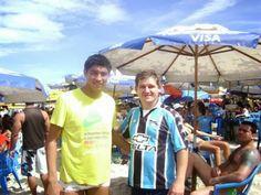 Encontrei Jardel na Praia do Futuro - Fortaleza - CE