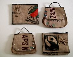 We Upcycle bags coffee sacks upcycled fashion  life style directory south africa fashion beauty latest trends