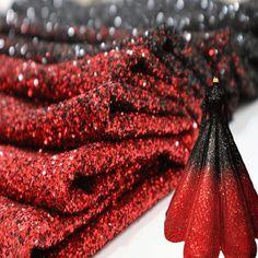 ... Buy 2018 New Fashion Black Red Gradual Transition Mesh Gauze Dense Glitter  Sequin Fabric Designer Elegant Performance Fashion Dress from Reliable  Fabric ... fd0b4b33294a