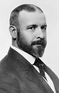 1895Photo-Louis Henry Sullivan (1856-1924) Architect - Father of Skyscrapers