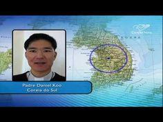 Por telefone, padre que está na Coreia do Sul fala da importância da vis...