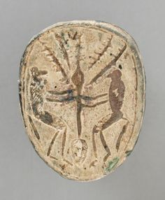 Frog Seal Amulet Egypt, no date LACMA