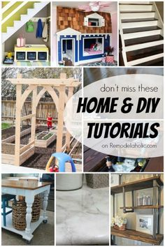 Home & DIY Tutorials from Remodelaholic.com
