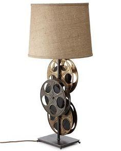 Movie room lamp