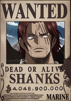 One Piece Chapter 957 Shanks Bounty Rocks Pirates by Amanomoon on DeviantArt One Piece Figure, Zoro One Piece, One Piece Ace, One Piece Comic, Manga Anime One Piece, Me Anime, Anime Girls, Madara Wallpapers, Animes Wallpapers