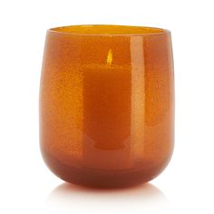 "Handcrafted glass ripples with artisan allure, richly colored and speckled with myriad bubbles formed when pockets of gas are trapped in molten glass.  Doubles as a hurricane candleholder or flower vase. HandcraftedSoda lime glassHand washAccommodates up to 4""-dia.  pillar candle, sold separatelyMade in China."
