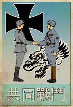 The Sino-German Alliance by edthomasten on deviantART