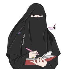 kumpulan anime muslimah bercadar keren - my ely