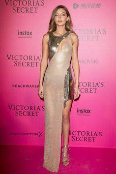 Gigi Hadid wearing Dsquared2 Riri Lace-Up Sandals