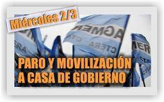 AGMER CONVOCÓ A UN NUEVO PARO CON MOVILIZACIÓN PARA ESTE MIÉRCOLES 2 DE MARZO - SANTA ELENA DIGITAL