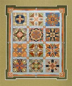 Stars for a New Millenium Maryann Jeurgensen - self selected colorway Needlepoint Stitches, Needlepoint Canvases, Needlework, Canvas Designs, Canvas Patterns, Bargello Quilts, Modern Colors, Needle And Thread, Christmas Tree Ornaments