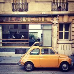 The original Fiat 500. I totally regret cancelling the scenic drive with the 500 Touring Club I had scheduled in Florence.